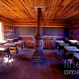Paul W Faust -  Impressions of Light - When school was in 1-room