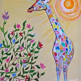 Phyllis Kaltenbach - Wild and Crazy Giraffe