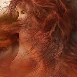 Carol Cavalaris - Wild Red Wind