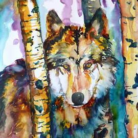 P Maure Bausch - Wolf in Aspen
