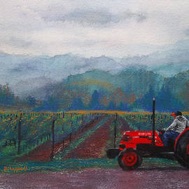 Becky Chappell - Working the Vineyard