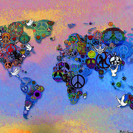Bill Cannon - World Peace Tye Dye