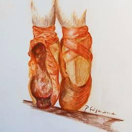 Deborah Gorga - Worn Slippers