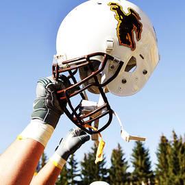 Univesity of Wyoming - Wyoming Helmet