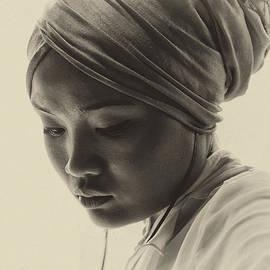 Sheila Smart - Young woman in turban