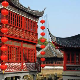 Christine Till - Yu Gardens - A Classic Chinese garden in Shanghai