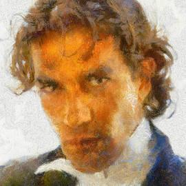 Alan Armstrong - # 2 Antonio Banderas Portrait