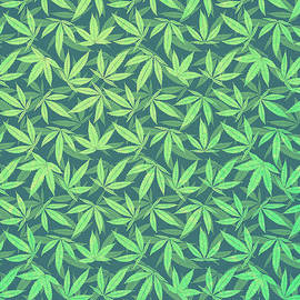 Philipp Rietz -  Cannabis   Hemp  420   Marijuana  Pattern
