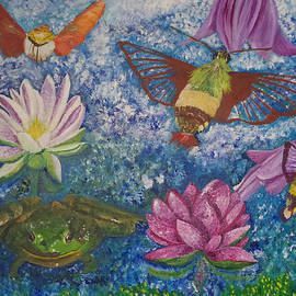 Linda McMillen -  Flowers, Frogs an Flying Things