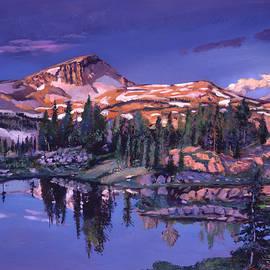 David Lloyd Glover -  Lake In Shades Of Purple