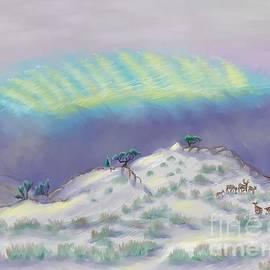 Dawn Senior-Trask -  Peaceful Snowy Sunrise