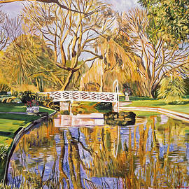 David Lloyd Glover -  Reflections Of The White Bridge