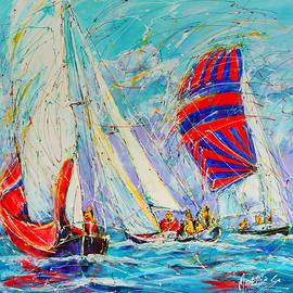 Mathias  -  sail of amsterdam II - tree sailboats