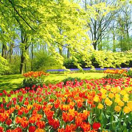 Veikko Suikkanen -  Spring Garden