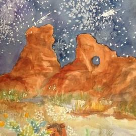 Ellen Levinson -  Starry Night in the Desert