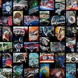 Steering Wheel Art  -01 - Jill Reger