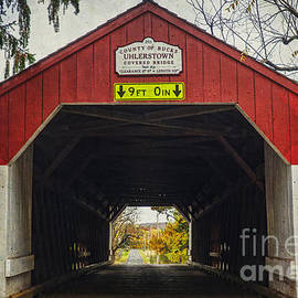 Debra Fedchin -  Uhlerstown Covered Bridge IV