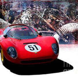 Stuart Row - 1966 Ferrari SP206 Replica
