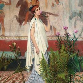 A Greek Woman - Lawrence Alma-Tadema