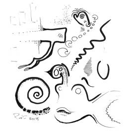 Ralf Schulze - Abstract Ink Sketch