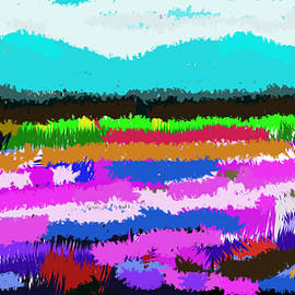 Anand Swaroop Manchiraju - Abstract Landscape