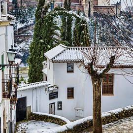 Juan Carlos Ballesteros - Albaicin under the snow