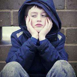 An upset child - Tom Gowanlock
