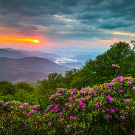 Dave Allen - Asheville North Carolina Blue Ridge Parkway Scenic Landscape