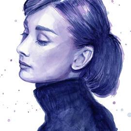 Audrey Hepburn Portrait - Olga Shvartsur