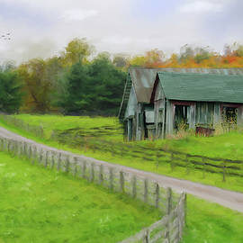 Mary Timman - Autumn Barn