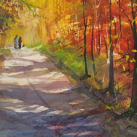 Madelaine Alter - Autumn in Bradley Hollow