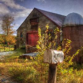 Joann Vitali - Barn and Silo in Autumn