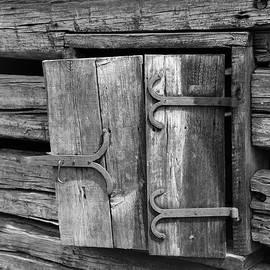 Dwight Cook - Barn window