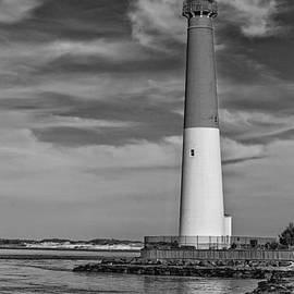Tom Gari Gallery-Three-Photography - Barnegat Lighthouse Black and White