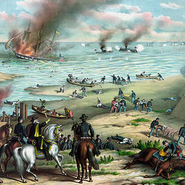War Is Hell Store - Battle Between The Monitor And Merrimac