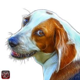 James Ahn - Beagle dog Art- 6896 -WB