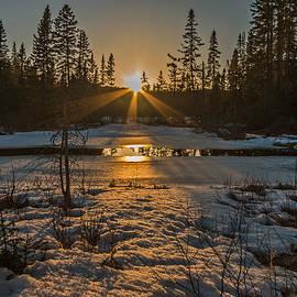 Steve Dunsford - Beaver Pond Sunset