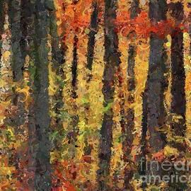 Dragica Micki Fortuna - Beech Forest in Autumn