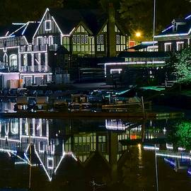 Frozen in Time Fine Art Photography - Boathouse Row II