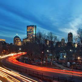 Joann Vitali - Boston Skyline from Storrow Drive