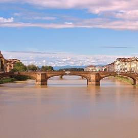 Slawek Aniol - Late Afternoon, Ponte Santa Trinita, Florence