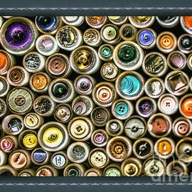 Bouquet  Of arts - Buttons Portrait #2