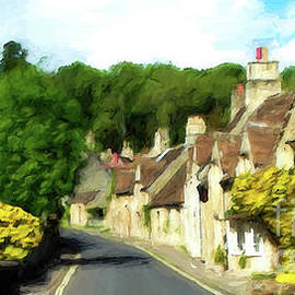 Mike Nellums - Castle Combe England poster