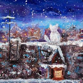 Boyan Dimitrov - Cat and winter