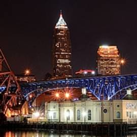 Frozen in Time Fine Art Photography - Cleveland Panorama