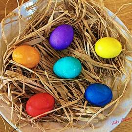 Vicki Dreher - Colored Eggs