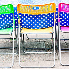 Tom Gowanlock - Colorful chairs