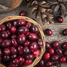 Elena Elisseeva - Cranberries in basket