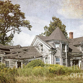 Jane Rix - Derelict house