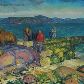 Dock Builders - George Bellows
